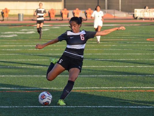 Ventura College women's soccer Janelle Garcia