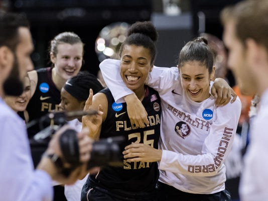 NCAA Womens Basketball: NCAA Tournament-Stockton Regional-Oregon State vs. Florida State
