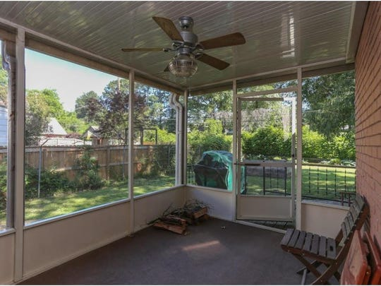 This High Point Terrace house, listed at $195,000, backs up to the Shelby Farms Greenline.