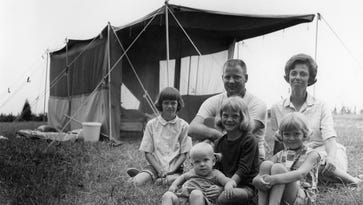 50 years later: Family of 6 looks back on summer spent in tent, revisits memories