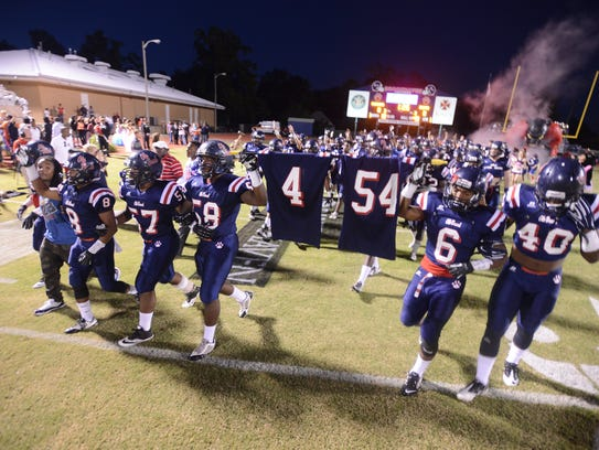 In 2014 Brookhaven mourned the loss of two football players in an auto accident.