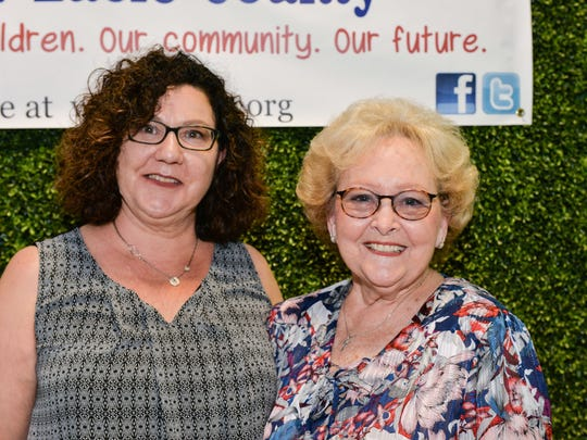 Tonya Andreacchio and Pat Alley attended the Children's Services Council's annual Awards Dinner on May 14.
