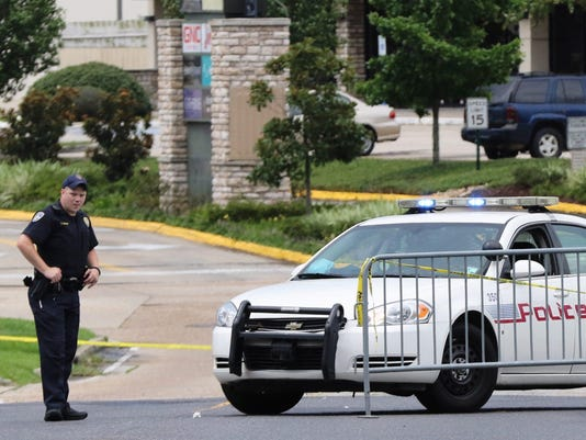 Three police officers shot dead and three others wounded in Baton Rouge