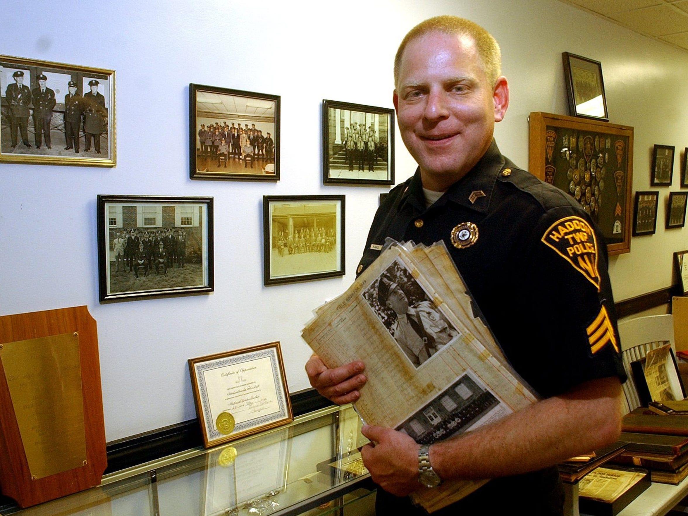 Haddon Township Police Chief Mark Cavallo