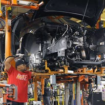General Motors will lay off 1,100 workers and cut the third shift in May 2017 at its Lansing Delta Township Assembly plant near Lansing, Mich., as production of its GMC Acadia shifts to Spring Hill, Tenn.