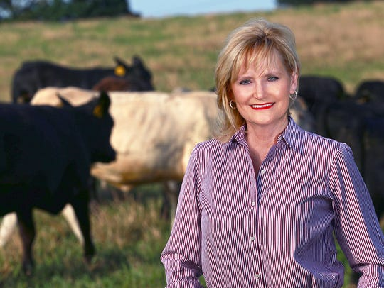 Former state Agriculture Commissioner Cindy Hyde-Smith will be sworn in as a U.S. senator on Monday, April 9, 2018, after Gov. Phil Bryant appointed her to temporarily fill the seat held by Thad Cochran, who retired April 1. Hyde-Smith is running for the seat in the Nov. 6 special election.