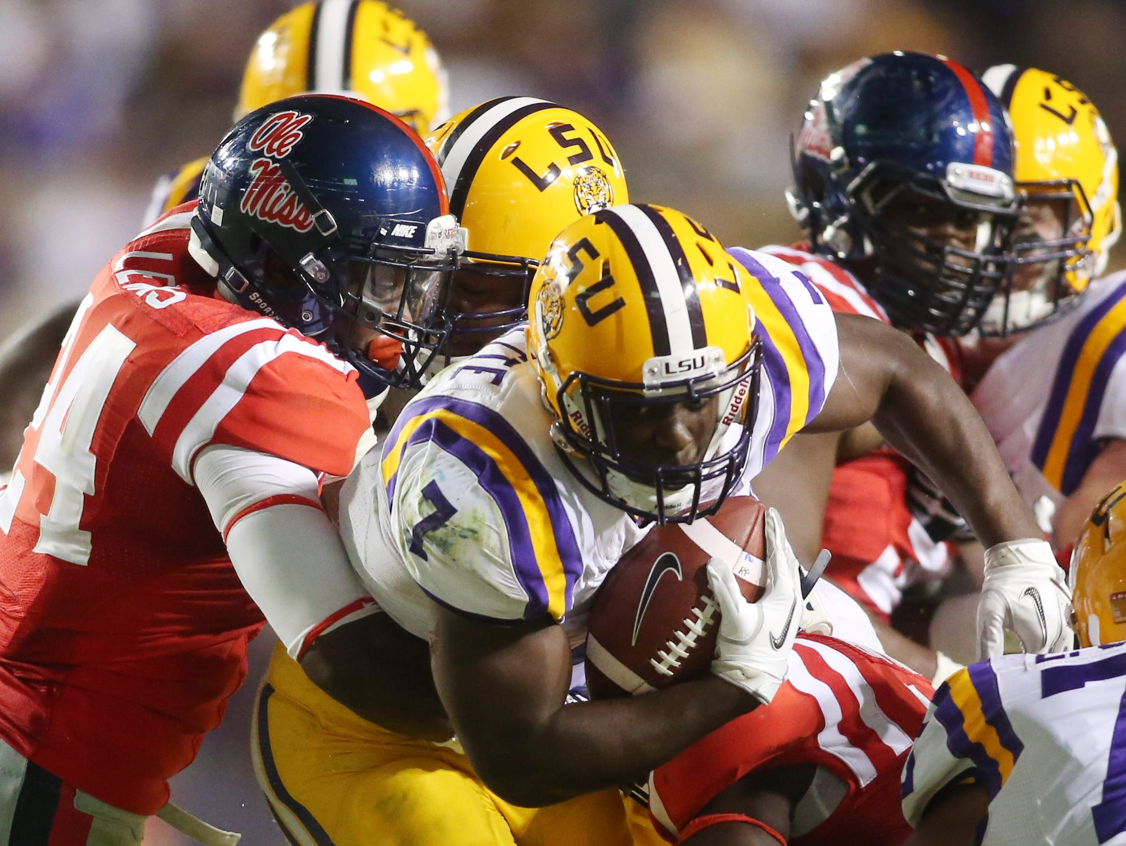 Ole Miss will play host to LSU on Nov. 21 at 2:30 p.m. on CBS.