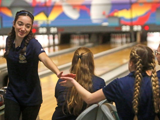 Section 1 Girls Bowling