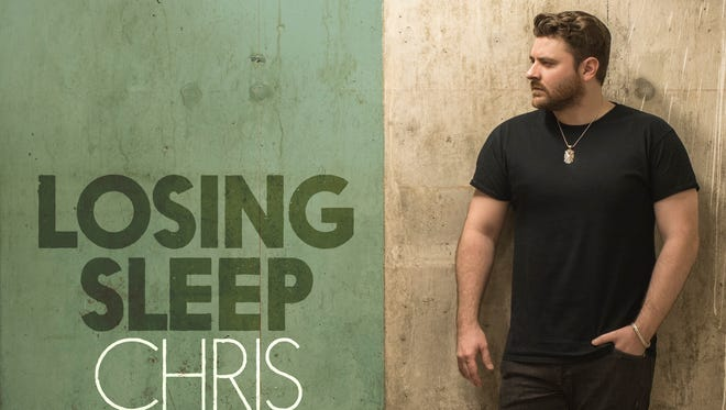 """Chris Young released """"Losing Sleep"""" on Friday, May 12, 2017."""