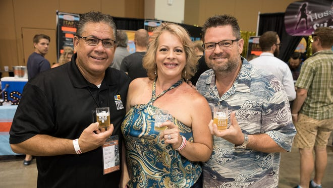 More than 65 breweries came together for the Real, Wild and Woody at the Phoenix Convention Center on Saturday, July 29, 2017.