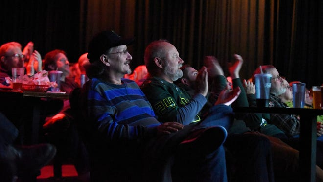 """""""Lights, Comedy, Laughs!"""" offers two shows with two comedians to tickle the funny bone 7 and 9 p.m. Saturday at Northern Lights Theatre Pub."""