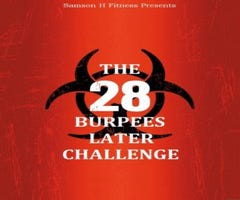 Countdown to September fitness challenge