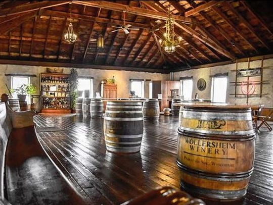 Wollersheim Winery  in Prairie du Sac has a Port Wine Celebration, with tours and treats, on Jan. 26.