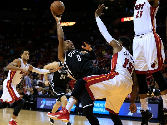 NBA: Brooklyn Nets at Miami Heat