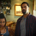 "Bresha Webb and Mike Epps in ""Meet the Blacks."""