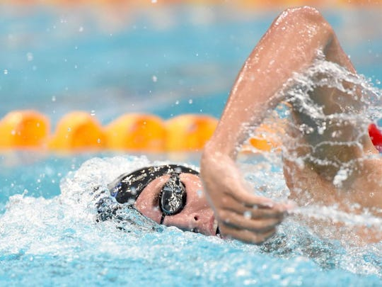 Cameron McEvoy is nearly seven-tenths of a second ahead