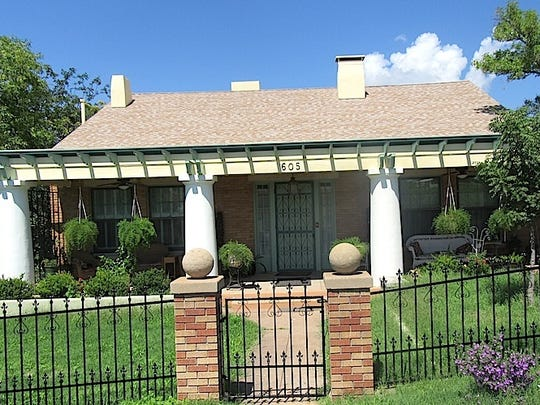The Spencer Shattuck home, built in 1928 on Vista Park,