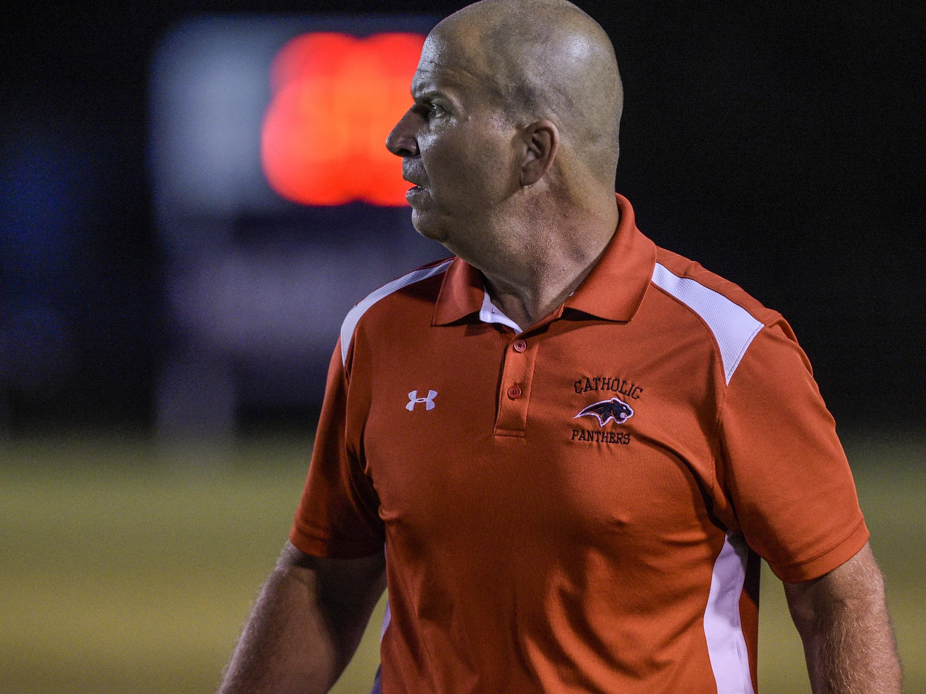 Catholic High head coach Brent Indest's Panthers rolled past Loreauville 41-14 on Thursday.