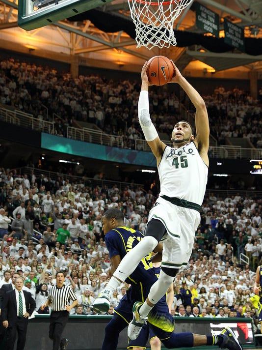 NCAA Basketball: Michigan at Michigan State