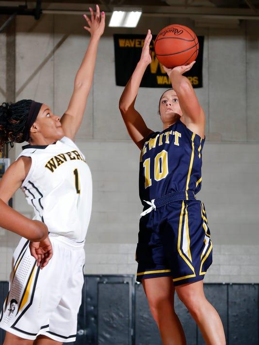 DeWitt at Waverly Basketball