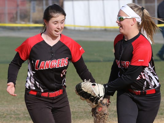 Lakeland vs Wayne Hills -- Softball --