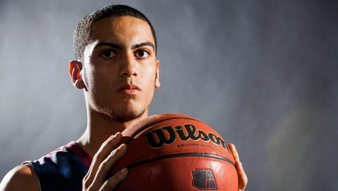 Markus Howard of the All­-Arizona boys basketball team is pictured on Thursday, March 6, 2014 in Phoenix.