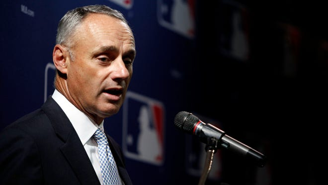 Rob Manfred serves as the chief operating officer of MLB.