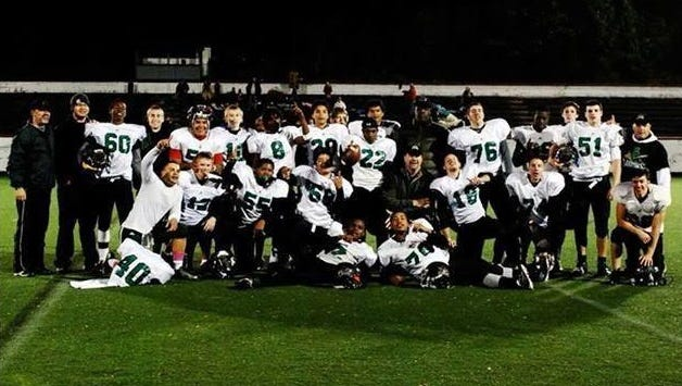 The Carolina Gladiators are an independent high school football team based out of Asheville and coached by Reid Bennett.