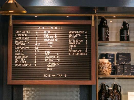 Corner Cafe Menu Union City
