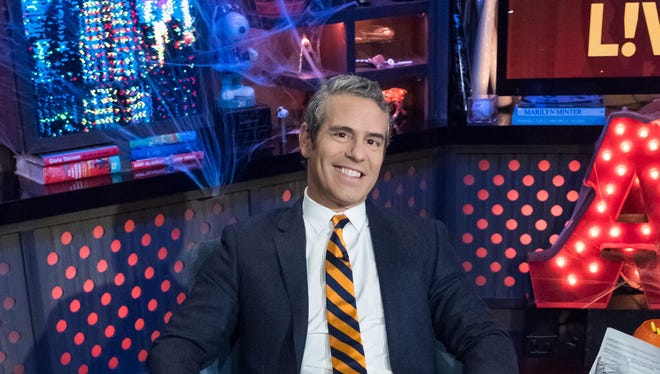 """One of Andy Cohen's many jobs is executive producer of """"The Real Housewives"""" franchise."""