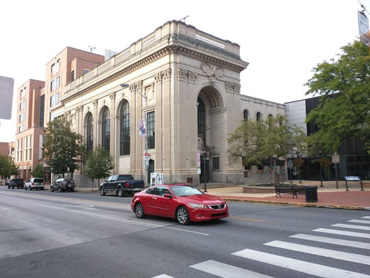 The old Citizens Bank building at 1 N. George St. in