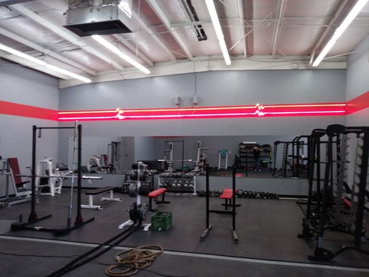 Pictured is the interior of the new D.C. Body Personal Training & Fitness Gym in Mesilla.