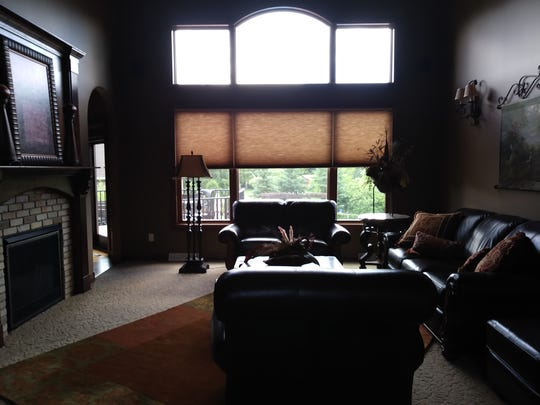 The living room at 2255 Chelmsford Lane in St. Cloud.