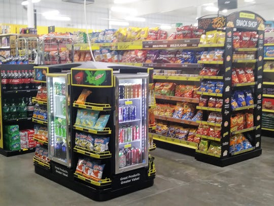 Dollar General stores offer a wider variety of products at reduced prices.