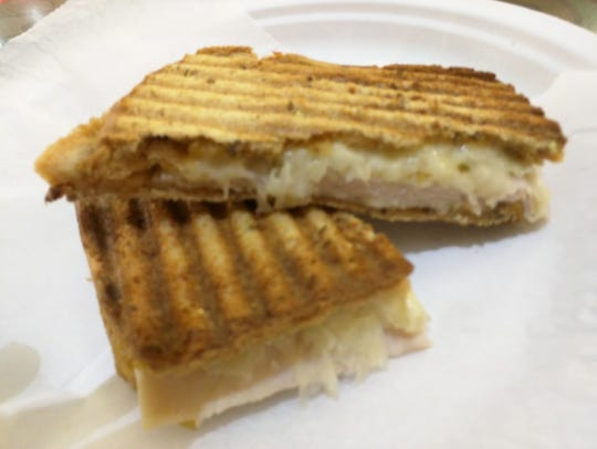 Counter Culture's turkey Reuben with pressed whole