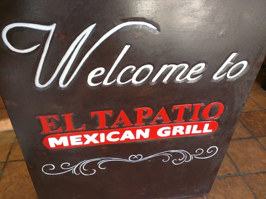 El Tapatio Mexican Grill is at  4165 9th Street S.W. in Vero Beach.