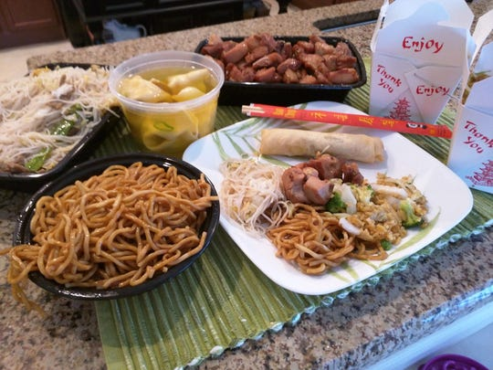 When you don't feel like cooking, Asian House Chinese