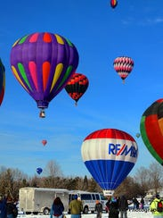 Hot Air Affair, taking place in February, hosts an