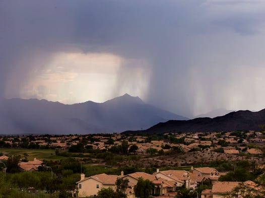 Valley storm