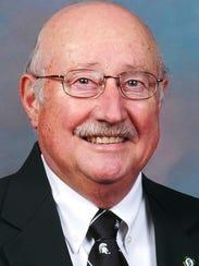 Eldon VanSprybrook was principal at Milford High.