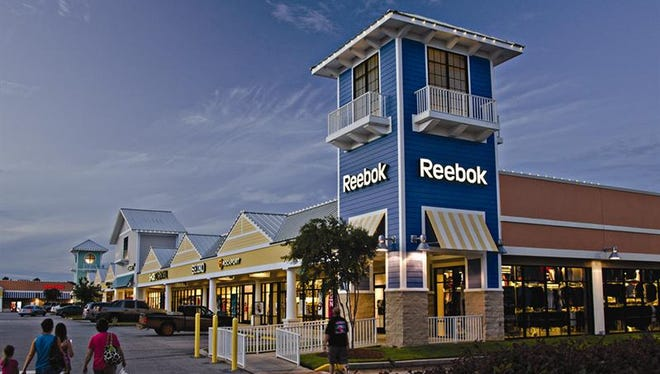 Outlet mall operated Tanger in Foley, Ala.