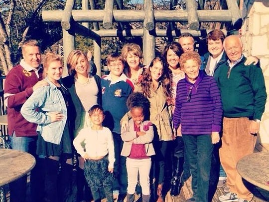 The entire Smalley family