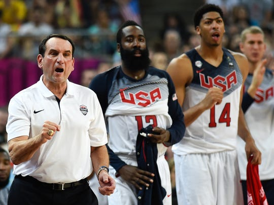 Head coach Mike Krzyzewski of the USA Basketball Men's National Team has his team primed for a run at the gold in Rio.