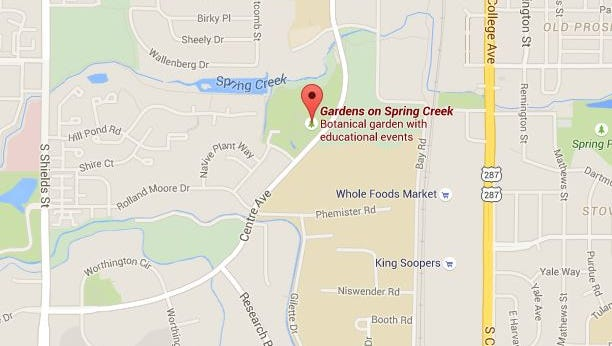 A prescribed burn is set for Monday afternoon on the Gardens on Spring Creek property.