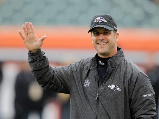 Baltimore Ravens head coach John Harbaugh has high expectations heading into the 2015 NFL season.