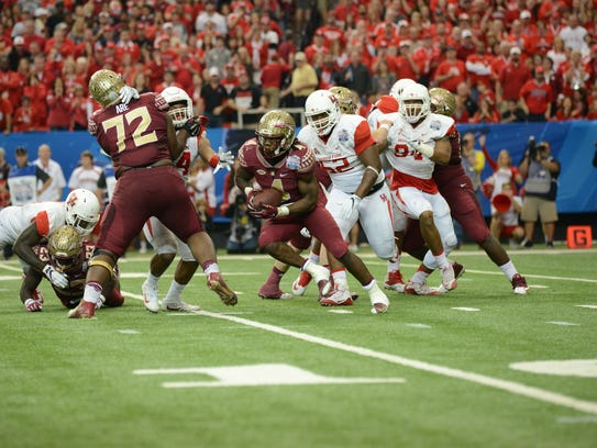 Florida State fell to Houston 38-24 in the Chick-Fil-A