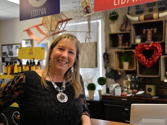 Lynne Breeden, the new owner of Grandma's Bait, pictured
