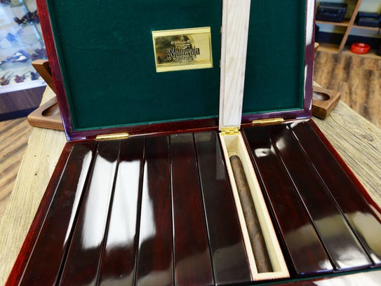 The box of Maharaja Gurkha cigars. Extremely rare the