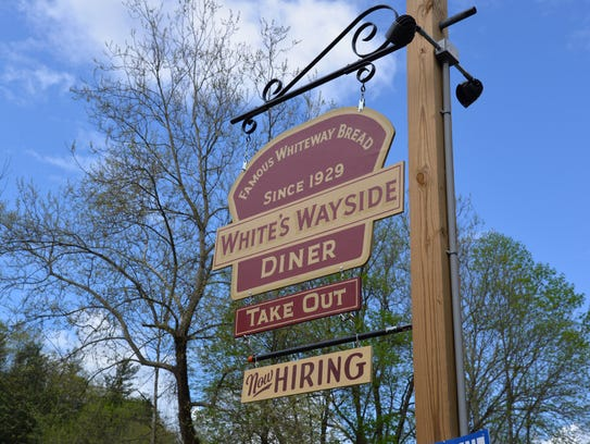 White's Wayside Diner outside of Churchville is expected