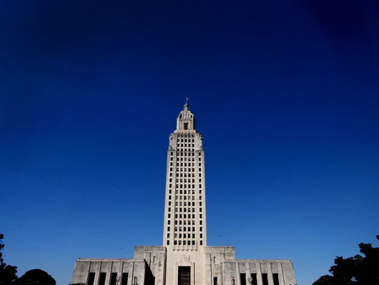 The Louisiana State Capitol Building was inaugurated